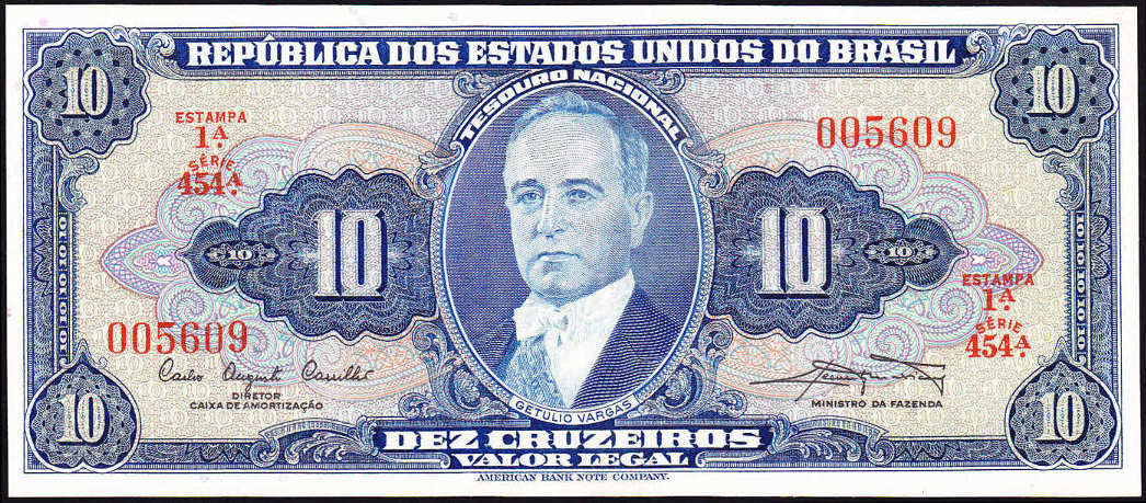 Brazil Paper Money http://numismondo.net/pm/bra/index166.htm